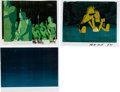 Animation Art:Production Cel, The New Adventures of Flash Gordon Production Cel Group of 7(Filmation, 1979)....