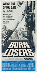 "Movie Posters:Exploitation, Born Losers (American International, 1967). Three Sheet (41"" X78""). Exploitation.. ..."
