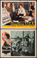 """Movie Posters:War, Passage to Marseille & Other Lot (Warner Brothers, 1944). LobbyCards (2) (11"""" X 14""""). War.. ... (Total: 2 Items)"""