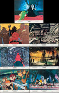 """Movie Posters:Animation, Wizards (20th Century Fox, 1977). Lobby Cards (7) (11"""" X 14"""").Animation.. ... (Total: 7 Items)"""