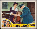"""Movie Posters:Comedy, The Bank Dick (Realart, R-1949). Lobby Card (11"""" X 14""""). Comedy....."""