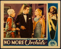 """Movie Posters:Drama, No More Orchids (Columbia, 1932). Lobby Card (11"""" X 14""""). Drama....."""