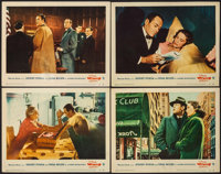 "The Wrong Man (Warner Brothers, 1957). Lobby Cards (4) (11"" X 14""). Hitchcock. ... (Total: 4 Items)"