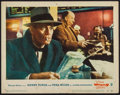 "Movie Posters:Hitchcock, The Wrong Man (Warner Brothers, 1957). Lobby Card (11"" X 14""). Hitchcock.. ..."