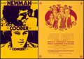 """Movie Posters:Rock and Roll, Randy Newman and Ry Cooder in Concert & Other Lot (1970s).Stock Concert Window Card (14"""" X 22"""") & Concert Poster (17"""" X22""""... (Total: 2 Items)"""