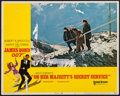 "Movie Posters:James Bond, On Her Majesty's Secret Service & Other Lot (United Artists, 1970). Lobby Card (11"" X 14"") & Autographed Color Photo (7.5"" X... (Total: 2 Items)"