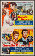 "Movie Posters:Adventure, Quentin Durward & Other Lot (MGM, 1955). Half Sheets (4) (22"" X28"") Styles A & B. Adventure.. ... (Total: 4 Items)"