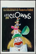 "Movie Posters:Foreign, The Clowns (Excelsior Films, 1970). Belgian (14"" X 21.5""). Foreign.. ..."