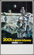 """Movie Posters:Science Fiction, 2001: A Space Odyssey (MGM, 1968). Midget Window Card (9"""" X 14.5"""")Cinerama Style. Science Fiction.. ..."""