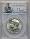 Kennedy Half Dollars, 1976-S 50C Silver MS68 PCGS. PCGS Population: (409/1). NGC Census:(24/0). Mintage 11,000,000....