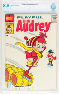 Silver Age (1956-1969):Humor, Playful Little Audrey #10 (Harvey, 1959) CBCS VF+ 8.5 Cream to off-white pages....