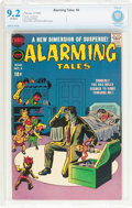 Silver Age (1956-1969):Horror, Alarming Tales #4 (Harvey, 1958) CBCS NM- 9.2 Off-white pages....