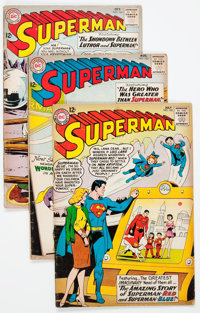 Superman Group of 17 (DC, 1963-66) Condition: Average GD/VG.... (Total: 17 Comic Books)