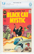 Silver Age (1956-1969):Horror, Black Cat Mystic #62 (Harvey, 1958) CBCS VF- 7.5 Off-white to whitepages....