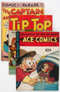 Golden Age (1938-1955):Miscellaneous, Comic Books - Assorted Golden Age Humor Comics Group of 20 (Various Publishers, 1940s) Condition: GD-.... (Total: 20 Comic Books)