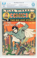 Golden Age (1938-1955):Superhero, Blue Ribbon Comics #9 (MLJ, 1941) CBCS Restored (Moderate) FN- 5.5 Off-white to white pages....