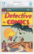Golden Age (1938-1955):Superhero, Detective Comics #48 (DC, 1941) CBCS Restored (Slight/Moderate) FN/VF 7.0 Off-white to white pages....