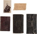 Miscellaneous, Union Soldier's Diaries (3) kept by Isaac Jelliff of the 143rd NewYork Volunteers ... (Total: 3 Items)