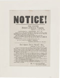 Miscellaneous:Broadside, Civil War Union Broadside: General Orders No. 31 Issued in the District of Eastern Virginia. ...