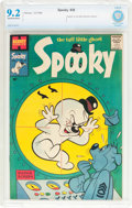 Silver Age (1956-1969):Humor, Spooky #38 (Harvey, 1959) CBCS NM- 9.2 Off-white to white pages....