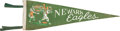 Baseball Collectibles:Others, 1940's Newark Eagles Negro League Pennant.. ...