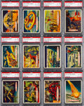 Non-Sport Cards:Sets, 1957 Topps Target: Moon Complete Set (88) - #5 on the PSA SetRegistry. ...