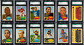 Football Cards:Sets, 1960 Topps Football High Grade Complete Set (132) - Almost 90 Graded Cards! ...