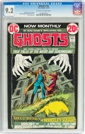 Bronze Age (1970-1979):Horror, Ghosts #10 (DC, 1972) CGC NM- 9.2 Off-white to white pages....