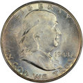 1948 50C MS66+ Full Bell Lines PCGS. CAC. PCGS Population (438/10 and 43/1+). NGC Census: (141/6 and 6/0+). CDN Wsl. Pri...