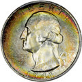 Washington Quarters, 1947-S 25C MS67+ PCGS. CAC. PCGS Population (205/3 and 27/0+). NGCCensus: (634/2 and 3/0+). Mintage: 5,532,000. CDN Wsl. P...