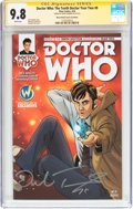 Modern Age (1980-Present):Science Fiction, Doctor Who: The Tenth Doctor Year Two #8 Wizard World Comic ConEdition - Signature Series (Titan Comics, 2016) CGC NM/MT 9.8 ...