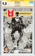 Modern Age (1980-Present):Superhero, Miracleman #2 Wizard World New Orleans Sketch Edition - Signature Series (Marvel, 2014) CGC NM/MT 9.8 White pages....