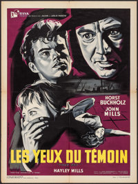 """Tiger Bay (Rank, 1959). French Affiche (23.5"""" X 31.5""""). Crime"""