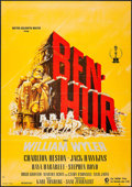 "Movie Posters:Academy Award Winners, Ben-Hur & Other Lot (CIC, R-1970s). German A1 (23.25"" X 33"")& Program (52 Pages, 9.25"" X 12.5""). Academy Award Winners..... (Total: 2 Items)"