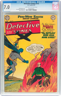 Detective Comics #172 (DC, 1951) CGC FN/VF 7.0 Light tan to off-white pages
