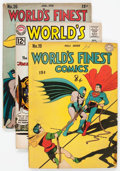 Golden Age (1938-1955):Superhero, World's Finest Comics Group of 34 (DC, 1945-64) Condition: Average GD.... (Total: 34 Comic Books)