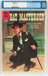 Bat Masterson #3 (Dell, 1960) CGC NM- 9.2 Cream to off-white pages