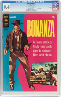 Bonanza #22 File Copy (Gold Key, 1966) CGC NM 9.4 Off-white pages