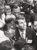 Photographs, Alfred Eisenstaedt (American, 1898-1995). Robert Kennedy, Democratic Convention, Los Angeles, California, 1960. Gelatin ...