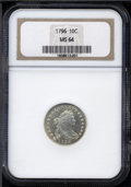 Early Dimes: , 1796 10C MS64 NGC....