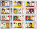 Baseball Cards:Sets, 1955 Topps Baseball Complete Set (206). The 1955 Topps set with its brand new horizontal design and brilliant colors is one ...