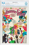 Silver Age (1956-1969):Humor, The Inferior Five #6 (DC, 1968) CBCS NM+ 9.6 White pages....