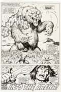 Original Comic Art:Panel Pages, John Buscema and Ernie Chan Conan the Barbarian No. 109 Story Page 30 Original Art (Marvel Comics, 1980)....