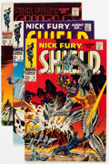 Silver Age (1956-1969):Superhero, Nick Fury, Agent of S.H.I.E.L.D. Group of 13 (Marvel, 1968-69) Condition: Average VG/FN.... (Total: 13 Comic Books)