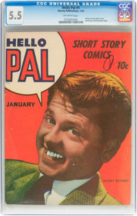 Hello Pal #1 (Harvey, 1943) CGC FN- 5.5 Off-white pages