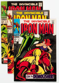 Silver Age (1956-1969):Superhero, Iron Man Group of 8 (Marvel, 1968-70) Condition: Average FN+.... (Total: 8 Comic Books)
