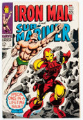 Silver Age (1956-1969):Superhero, Iron Man and Sub-Mariner #1 (Marvel, 1968) Condition: VF-....