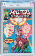 Modern Age (1980-Present):Superhero, Masters of the Universe #1 (Marvel, 1986) CGC NM/MT 9.8 White pages....