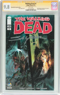 Modern Age (1980-Present):Horror, Walking Dead #1 Wizard World Columbus Edition - Signature Series(Image, 2015) CGC NM/MT 9.8 White pages....