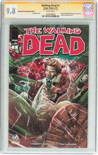 Walking Dead #1 Wizard World Philadelphia Edition Signature Series (Image, 2015) CGC NM/MT 9.8 White pages